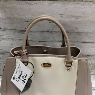 Primary Photo - BRAND: COACH STYLE: HANDBAG DESIGNER COLOR: GREY SIZE: MEDIUM SKU: 127-4942-1996