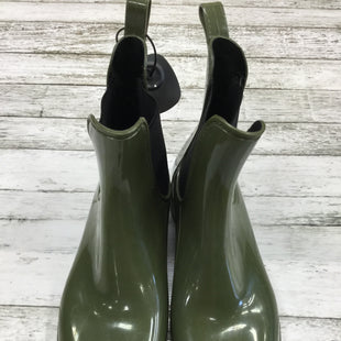 Primary Photo - BRAND: J CREW STYLE: BOOTS ANKLE COLOR: GREEN SIZE: 10 OTHER INFO: RAIN SKU: 127-4942-1222