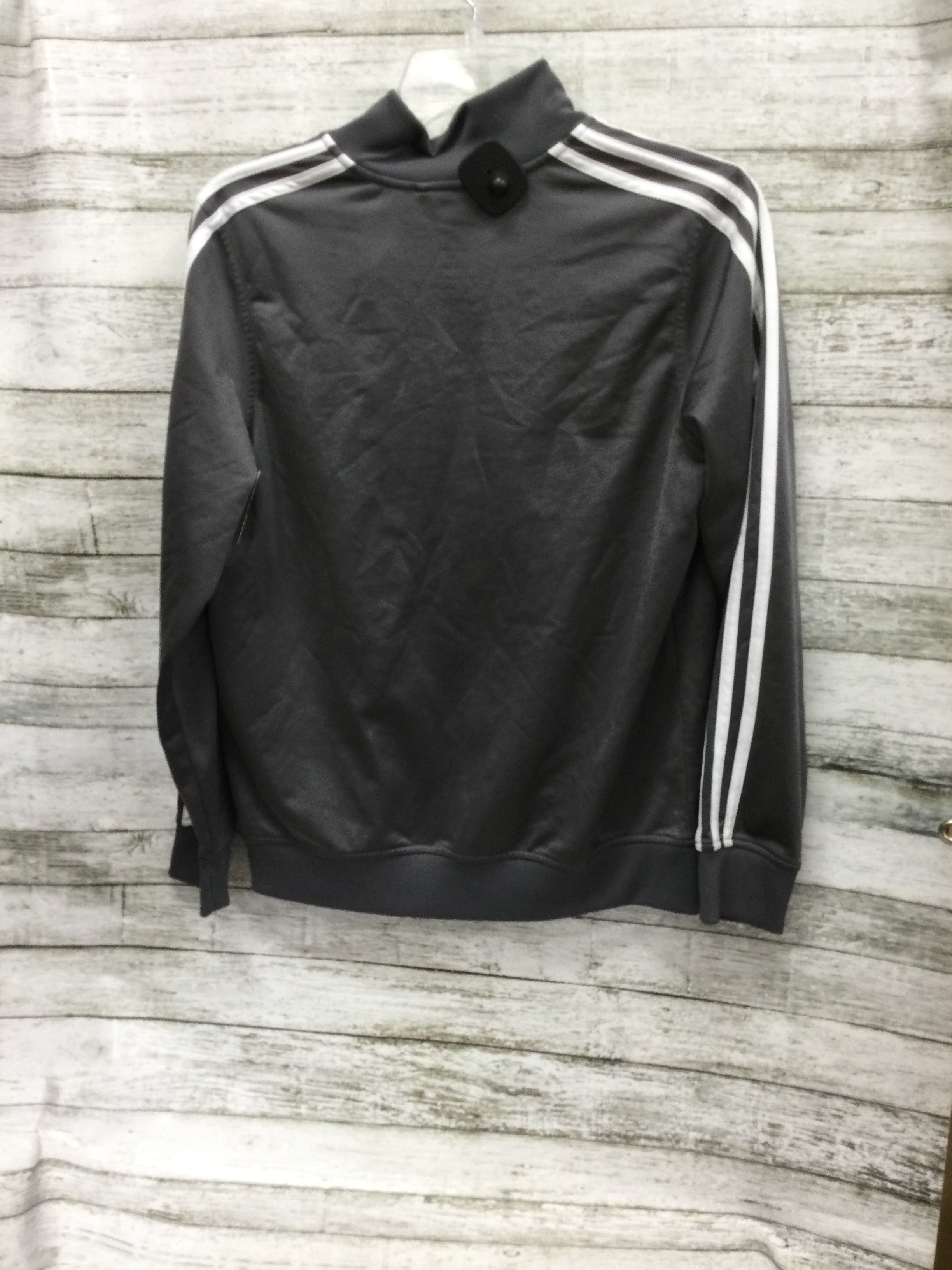 Photo #1 - brand: adidas , style: athletic jacket , color: grey , size: l , sku: 127-4876-17804