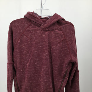 Primary Photo - BRAND: LULULEMON STYLE: SWEATSHIRT HOODIE COLOR: BRICK RED SIZE: S/MSKU: 127-4169-37018