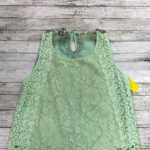 Primary Photo - BRAND: BKE STYLE: TOP SLEEVELESS COLOR: MINT SIZE: XL SKU: 127-3371-43231