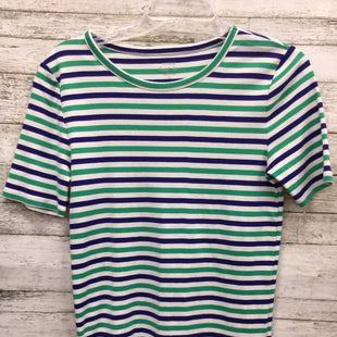 Primary Photo - BRAND: J CREW STYLE: TOP SHORT SLEEVE BASIC COLOR: BLUE GREEN SIZE: L SKU: 127-4169-33466