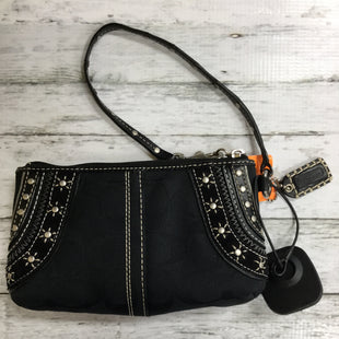 Primary Photo - BRAND: COACH STYLE: WRISTLET COLOR: BLACK SKU: 127-4169-23899