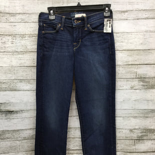 "Primary Photo - BRAND: LUCKY BRAND STYLE: JEANS COLOR: DENIM SIZE: 0 SKU: 127-4169-24084""BROOKE CROP"" JEANS."