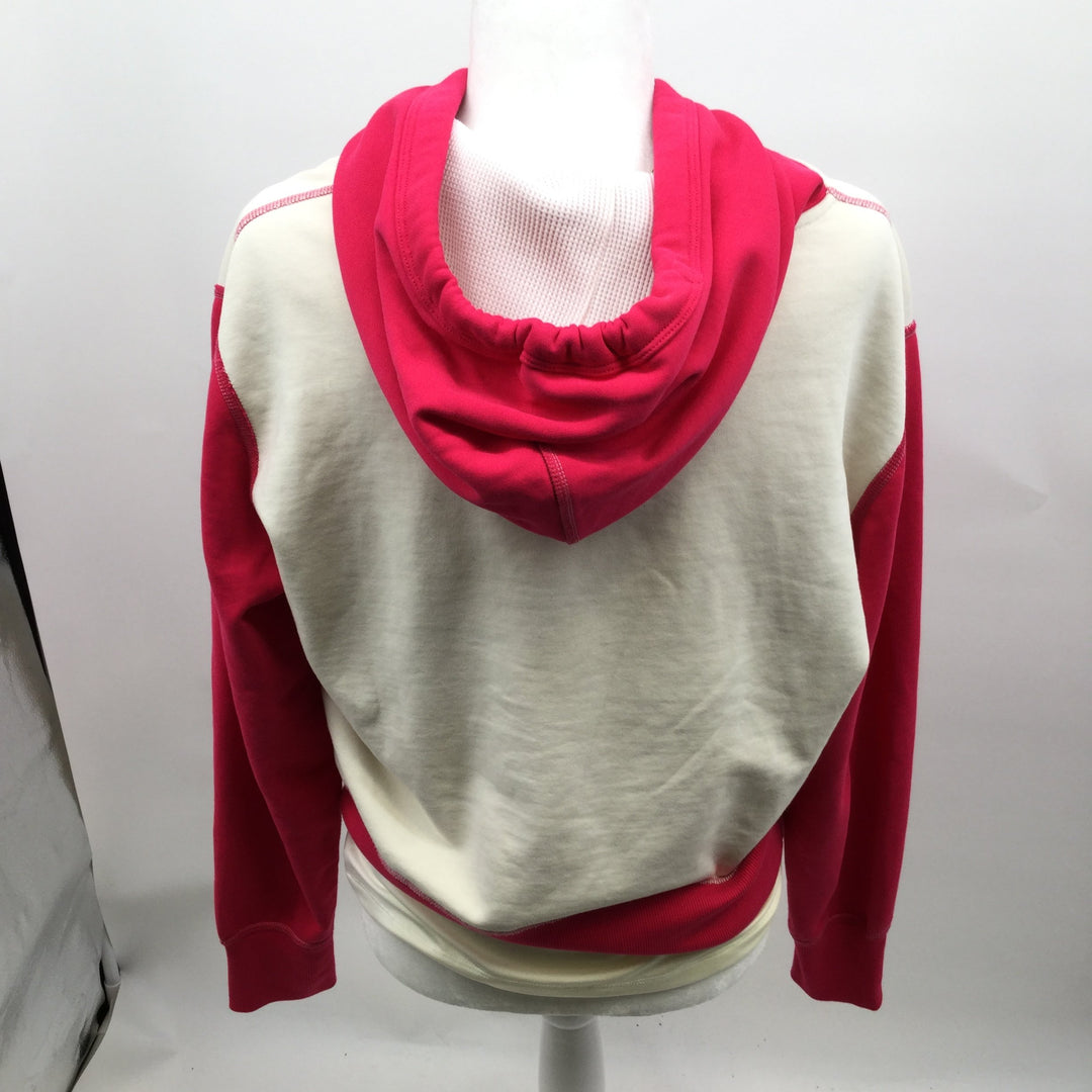 Rag & Bones Jeans Sweatshirt Hoodie Size:s - <P>PINK AND IVORY CONDITION IS LIKE NEW WITH OUT TAGS. SIZE SMALL. 95% COTTON AND 5% SPANDEX.</P>