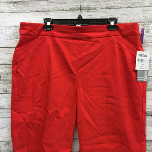 Primary Photo - BRAND: CORAL BAY STYLE: SHORTS COLOR: RED SIZE: 16 OTHER INFO: NEW! SKU: 127-4876-8400RED/ORANGE SHORTS BY CORAL BAY.