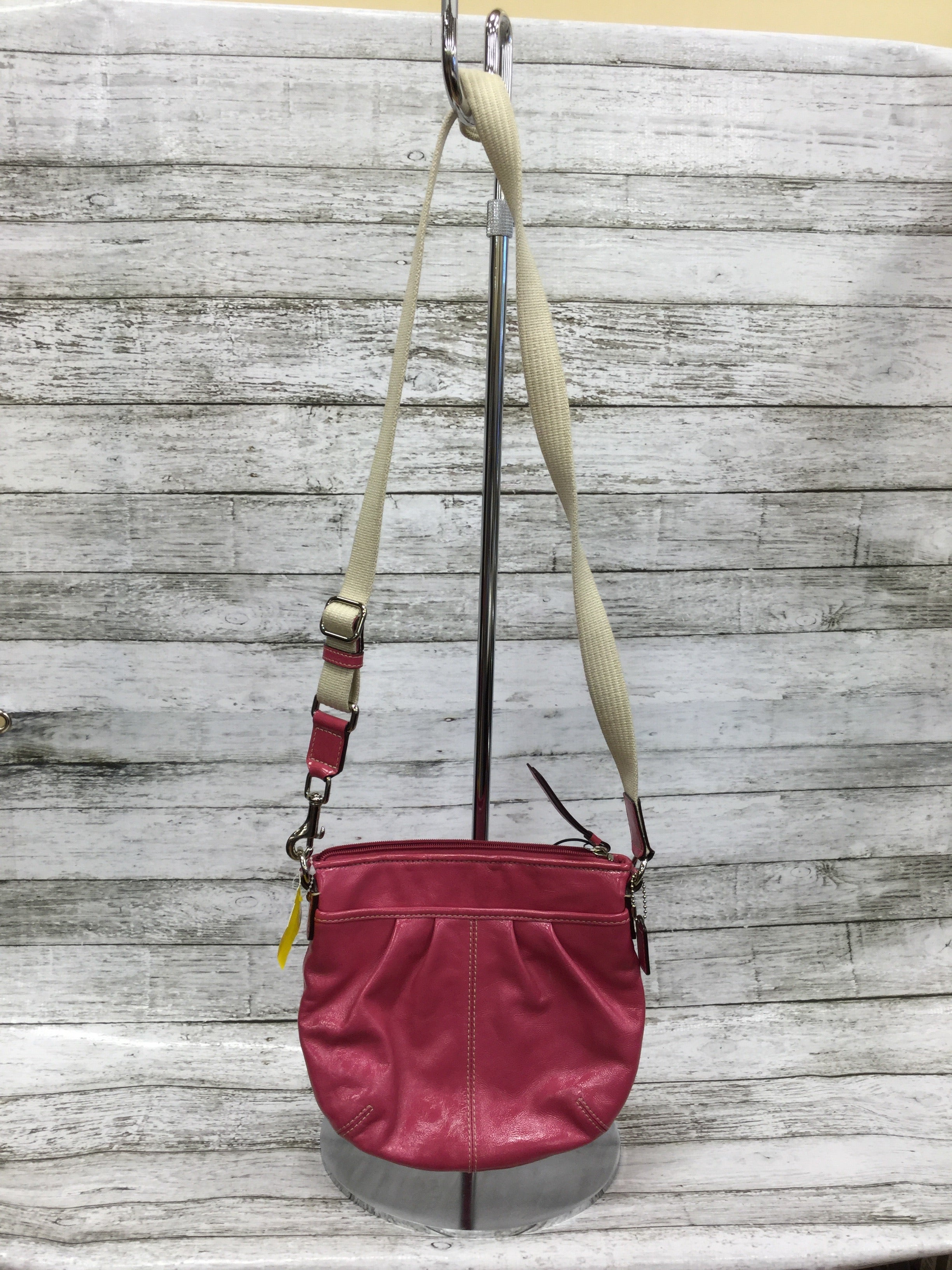Primary Photo - BRAND: COACH O <BR>STYLE: HANDBAG DESIGNER <BR>COLOR: PINK <BR>SIZE: SMALL <BR>SKU: 127-4954-4369