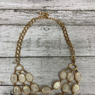 Primary Photo - BRAND: TALBOTS STYLE: NECKLACE COLOR: GOLD OTHER INFO: IVORY BEADS SKU: 127-3371-47870