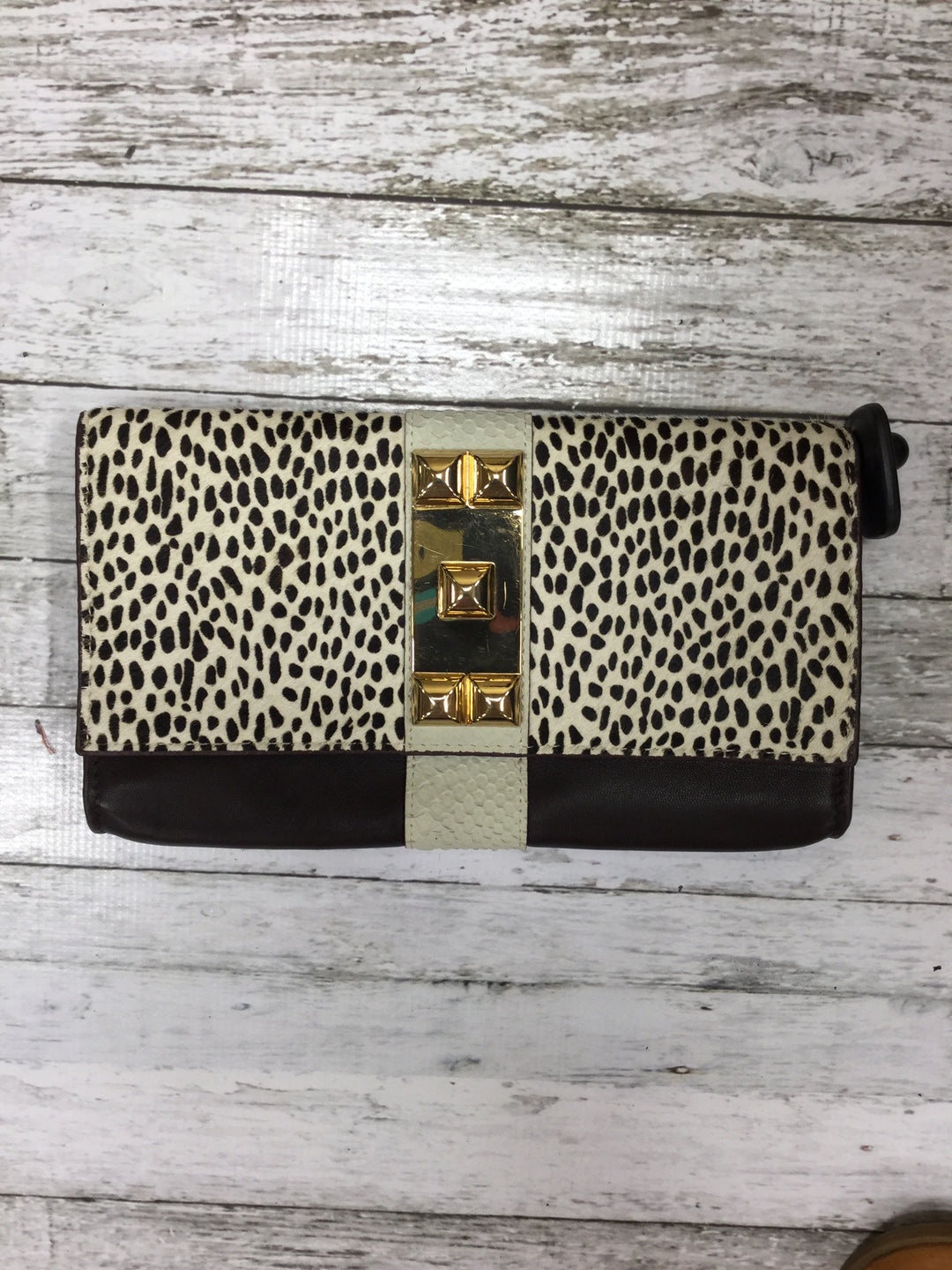 Primary Photo - BRAND: VINCE CAMUTO , STYLE: CLUTCH , COLOR: ANIMAL PRINT , SKU: 127-3366-7990