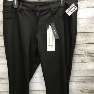 Primary Photo - BRAND:    CMD STYLE: PANTS COLOR: BLACK SIZE: 14 OTHER INFO: D. JEANS - SKU: 127-2767-91642GORGEOUS D. JEANS FAUX LEATHER PANTS!