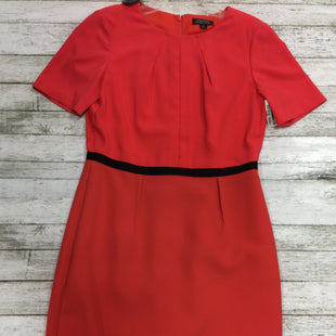 Primary Photo - BRAND: TAHARI STYLE: DRESS SHORT SHORT SLEEVE COLOR: CORAL SIZE: 6 SKU: 127-4169-26818