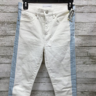 Primary Photo - BRAND: ANN TAYLOR LOFT STYLE: PANTS COLOR: WHITE BLUE SIZE: 0 SKU: 127-3371-45906
