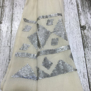Primary Photo - BRAND: BANANA REPUBLIC O STYLE: SCARF COLOR: CREAM OTHER INFO: NEW! SKU: 127-3371-42674