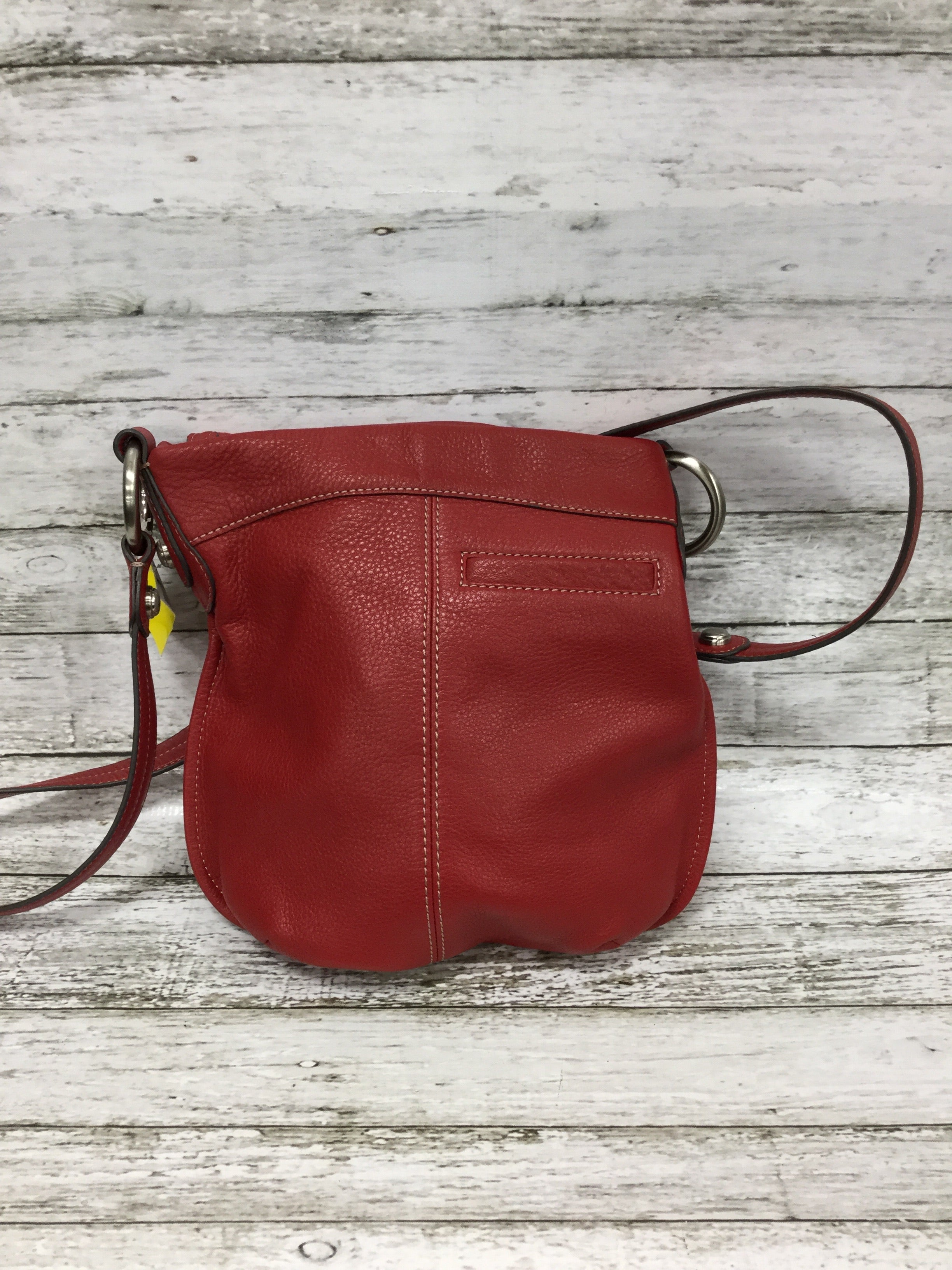 Photo #1 - BRAND: B MAKOWSKY <BR>STYLE: HANDBAG DESIGNER <BR>COLOR: RED <BR>SIZE: MEDIUM <BR>SKU: 127-4954-4380