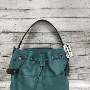 Primary Photo - BRAND: COACH STYLE: HANDBAG DESIGNER COLOR: TEAL SIZE: MEDIUM SKU: 127-4876-7846THIS COACH BAG IS VERY GENTLY USED. THE COLOR IS GORGEOUS!