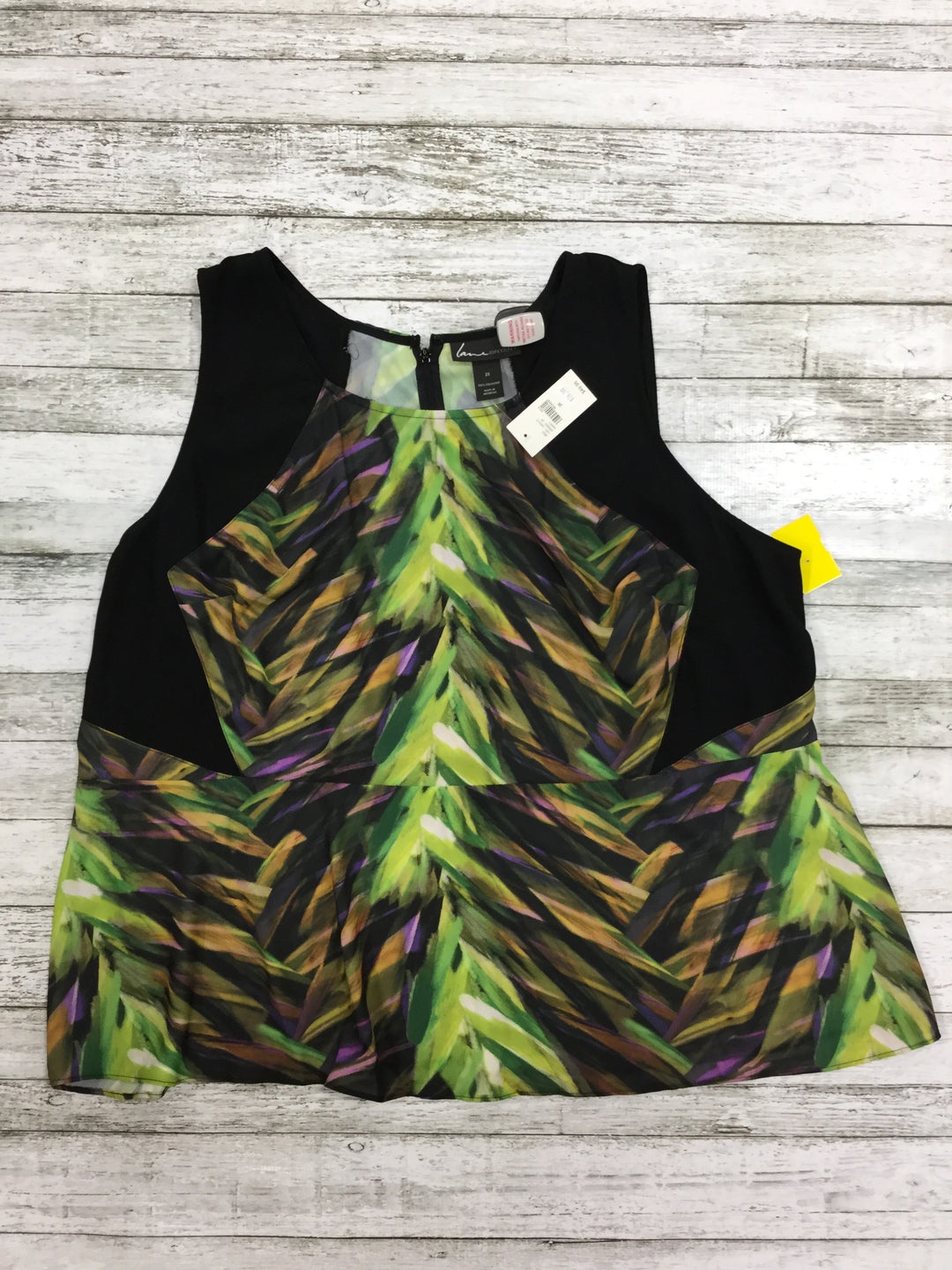 Primary Photo - BRAND: LANE BRYANT , STYLE: TOP SLEEVELESS , COLOR: BLACK , SIZE: 28 , OTHER INFO: NEW! , SKU: 127-4169-33034