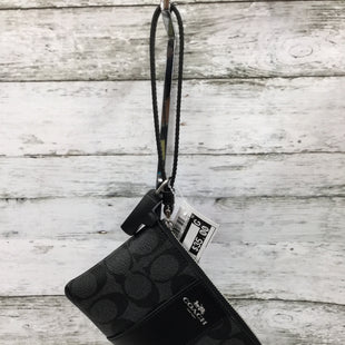 Primary Photo - BRAND: COACH STYLE: WALLET COLOR: BLACK SIZE: SMALL SKU: 127-4942-3207SMALL BLACK COACH WRISTLET!