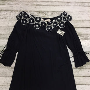 Primary Photo - BRAND: ANN TAYLOR LOFT STYLE: DRESS LONG LONG SLEEVE COLOR: NAVY SIZE: XS SKU: 127-4876-4576