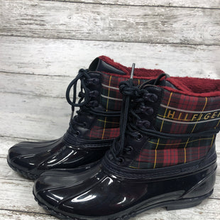 Primary Photo - BRAND: TOMMY HILFIGER STYLE: BOOTS RAIN COLOR: NAVY SIZE: 10 SKU: 127-4169-37093