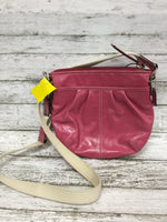 Photo #1 - BRAND: COACH O <BR>STYLE: HANDBAG DESIGNER <BR>COLOR: PINK <BR>SIZE: SMALL <BR>SKU: 127-4954-4369