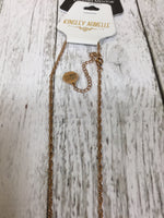 Photo #1 - BRAND:   CMC , STYLE: NECKLACE , COLOR: WHITE , OTHER INFO: KINSLEY ARMELLE - CRYSTAL PENDANT , SKU: 127-4942-846