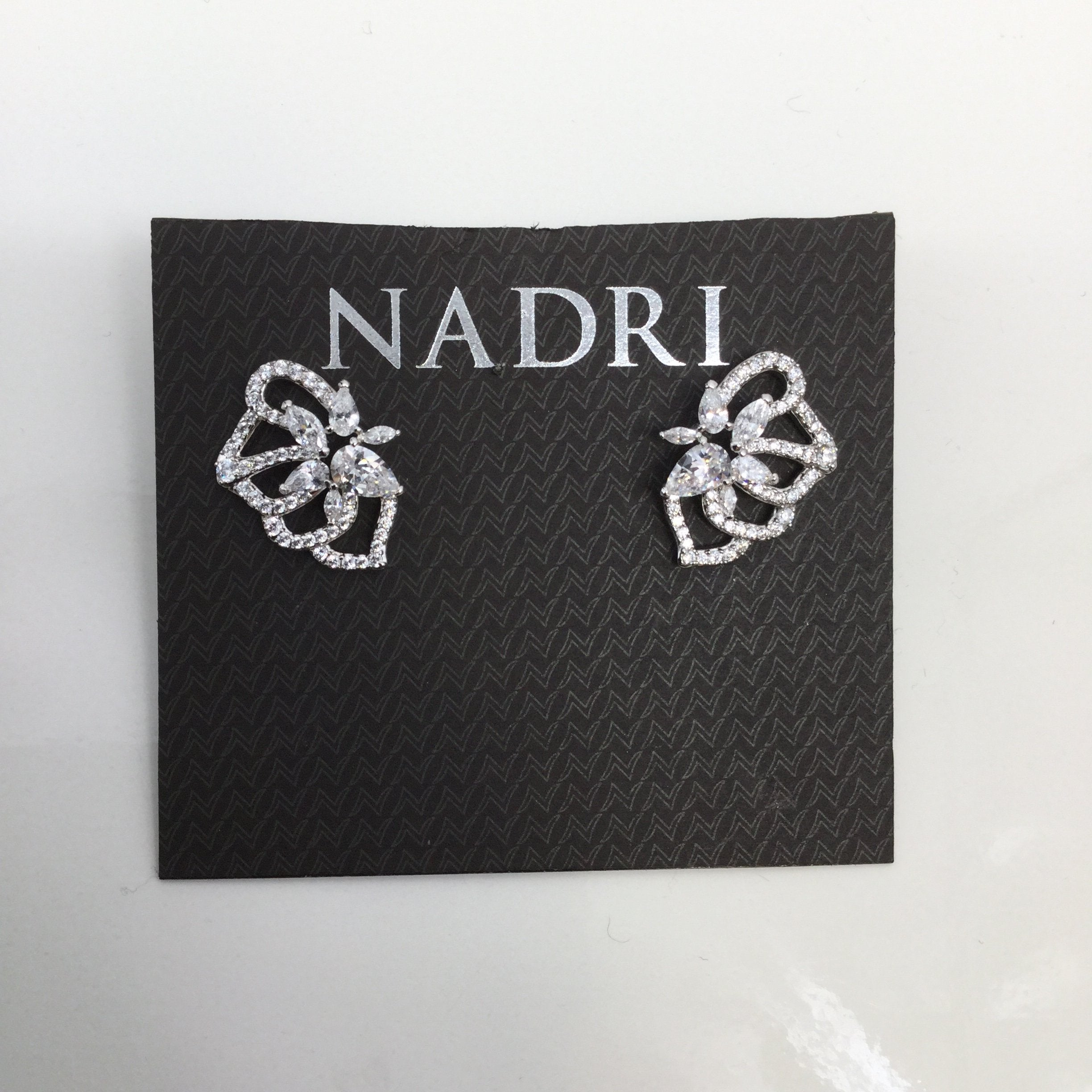 NADRI EARRINGS - <P>NEW NADRI POST CRYSTAL EARRINGS.</P>