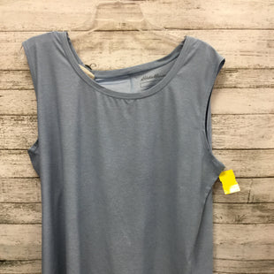Primary Photo - BRAND: EDDIE BAUER STYLE: ATHLETIC TOP COLOR: BLUE SIZE: 2X SKU: 127-2767-91162