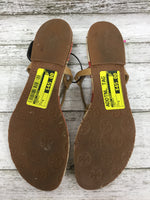 Photo #1 - BRAND: TORY BURCH , STYLE: SANDALS , COLOR: TAN , SIZE: 6 , SKU: 127-4876-7204, , THESE SANDALS ARE VERY CLEAN AND IN GREAT CONDITION!