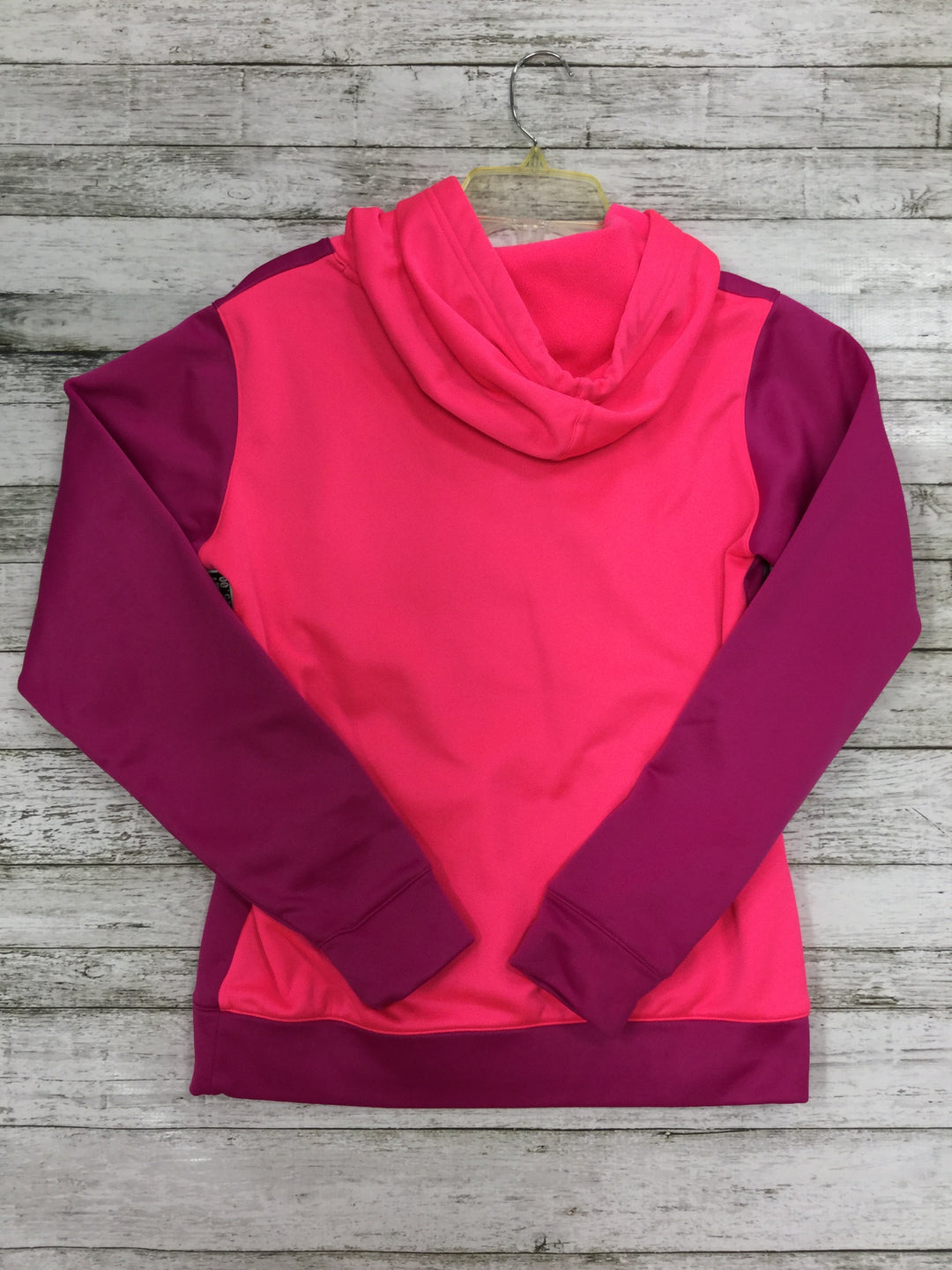 Photo #1 - BRAND: UNDER ARMOUR <BR>STYLE: SWEATSHIRT HOODIE <BR>COLOR: HOT PINK <BR>SIZE: XS <BR>SKU: 127-3371-39828