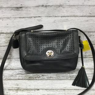 Primary Photo - BRAND: ISAAC MIZRAHI STYLE: HANDBAG LEATHER COLOR: BLACK SIZE: SMALL SKU: 127-4876-2728THIS BAG IS IN GREAT CONDITION BOTH INSIDE AND OUT. THERE IS SOME MINOR WEAR ON THE LEATHER AND ON THE GOLD DETAILS. (SEE PHOTOS FOR DETAILS)
