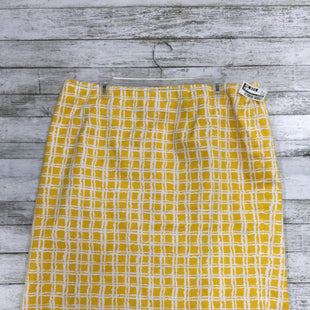 Primary Photo - BRAND: TALBOTS STYLE: SKIRT COLOR: YELLOW SIZE: 16 SKU: 127-4008-9916