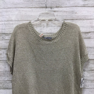 Primary Photo - BRAND: VINCE STYLE: TOP SHORT SLEEVE COLOR: METALLIC SIZE: S SKU: 127-4876-8477THIS METALLIC TOP BY VINCE IS IN GREAT CONDITION. IT DOES NOT LOOK LIKE IT HAS BEEN WORN MUCH.