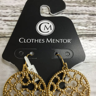Primary Photo - BRAND: COACH STYLE: EARRINGS COLOR: GOLD SKU: 127-4902-188