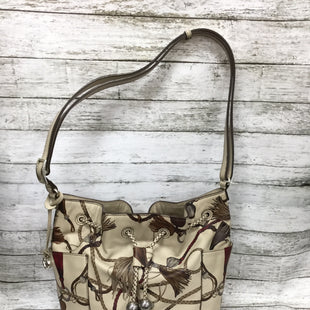 Primary Photo - BRAND: BRIGHTON STYLE: HANDBAG DESIGNER COLOR: BEIGE SIZE: MEDIUM SKU: 127-4169-37059SELLS FOR OVER $400 NEW!SLIGHT CORNER WEAR.