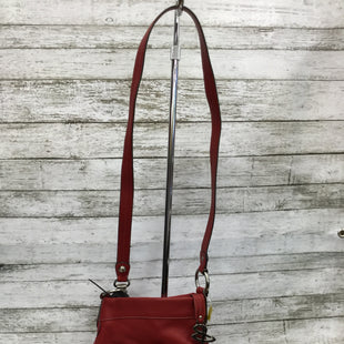 Primary Photo - BRAND: B MAKOWSKY STYLE: HANDBAG DESIGNER COLOR: RED SIZE: MEDIUM SKU: 127-4954-4380