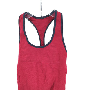 "Primary Photo - BRAND: LULULEMON STYLE: ATHLETIC TANK TOP COLOR: BRIGHT PINK NAVYSIZE: S SKU: 127-3371-47961SHELF BRA24"" ACROSS"