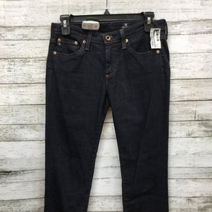 Primary Photo - BRAND: ADRIANO GOLDSCHMIED STYLE: JEANS COLOR: DENIM SIZE: 26 OTHER INFO: 2 SKU: 127-3371-37276THE STEVIE ROLL-UP. SLIM STRAIGHT JEANS.