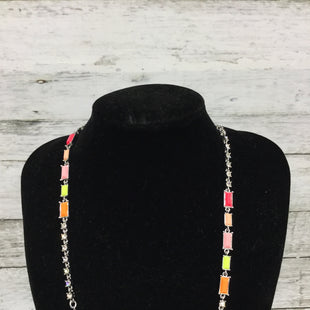 Primary Photo - BRAND: ANN TAYLOR O STYLE: NECKLACE COLOR: MULTI SKU: 127-4559-9429ORANGE, PINK, LIME GREEN, AND PEACH BEADS. IN GREAT CONDITION.
