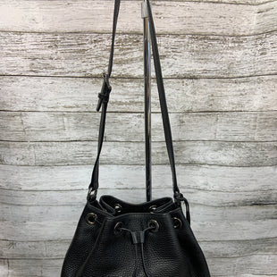 Primary Photo - BRAND: MICHAEL KORS STYLE: HANDBAG DESIGNER COLOR: BLACK SIZE: MEDIUM SKU: 127-2767-93712BUCKET BAG