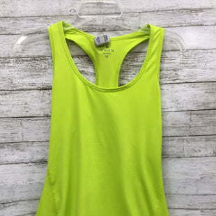 Primary Photo - BRAND: ATHLETA STYLE: ATHLETIC TANK TOP COLOR: GREEN SIZE: XS SKU: 127-4559-5410CUTE NEON GREEN ATHLETA TANK IN VERY GOOD CONDITION.