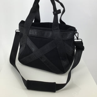 Caraa Sport Crossbody Handbag, Black, Size Large - GOING TO THE GYM AND NEED A GREAT BAG? WE HAVE THE PERFECT ONE FOR YOU! THIS CAN BE WORN AS A CROSSBODY OR A HANDBAG. HAS A DRAWSTRING TO OPEN/CLOSE THE BAG. PLENTY OF SPACE ON THE INSIDE FOR ALL YOUR GYM GEAR. GENTLY WORN, (SEE PHOTOS)..
