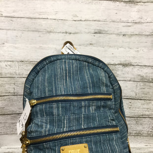Primary Photo - BRAND: FRYE STYLE: BACKPACK COLOR: DENIM SIZE: LARGE SKU: 127-4942-3661THIS BACKPACK IS IN GREAT CONDITION WITH JUST SOME MINOR WEAR. (SEE PHOTOS FOR DETAILS)