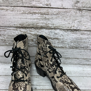 Primary Photo - BRAND:   TREASURE & BONDSTYLE: BOOTS ANKLE COLOR: SNAKESKIN PRINT SIZE: 7 OTHER INFO: TREASURE AND BOND - SKU: 127-3371-48177