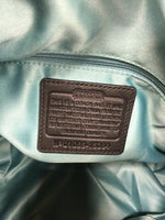 Photo #4 - BRAND: COACH , STYLE: HANDBAG , COLOR: BLACK , SIZE: LARGE , OTHER INFO: ALEXANDRA , SKU: 127-4942-3300, , THIS LEATHER COACH HANDBAG IS IN VERY GOOD CONDITION WITH SOME MINOR WEAR. THE INSIDE AND OUTSIDE ARE BOTH VERY CLEAN.