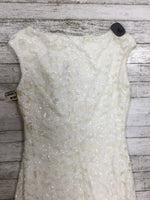 Photo #1 - BRAND: CHAPS , STYLE: DRESS SHORT SLEEVELESS , COLOR: WHITE , SIZE: 8 , OTHER INFO: NEW! , SKU: 127-4876-4328
