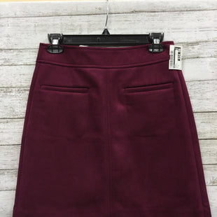 Primary Photo - BRAND: LOFT STYLE: SKIRT COLOR: BURGUNDY SIZE: 0 SKU: 127-4942-2776NEW WITH TAGS AND IN NEW CONDITION!