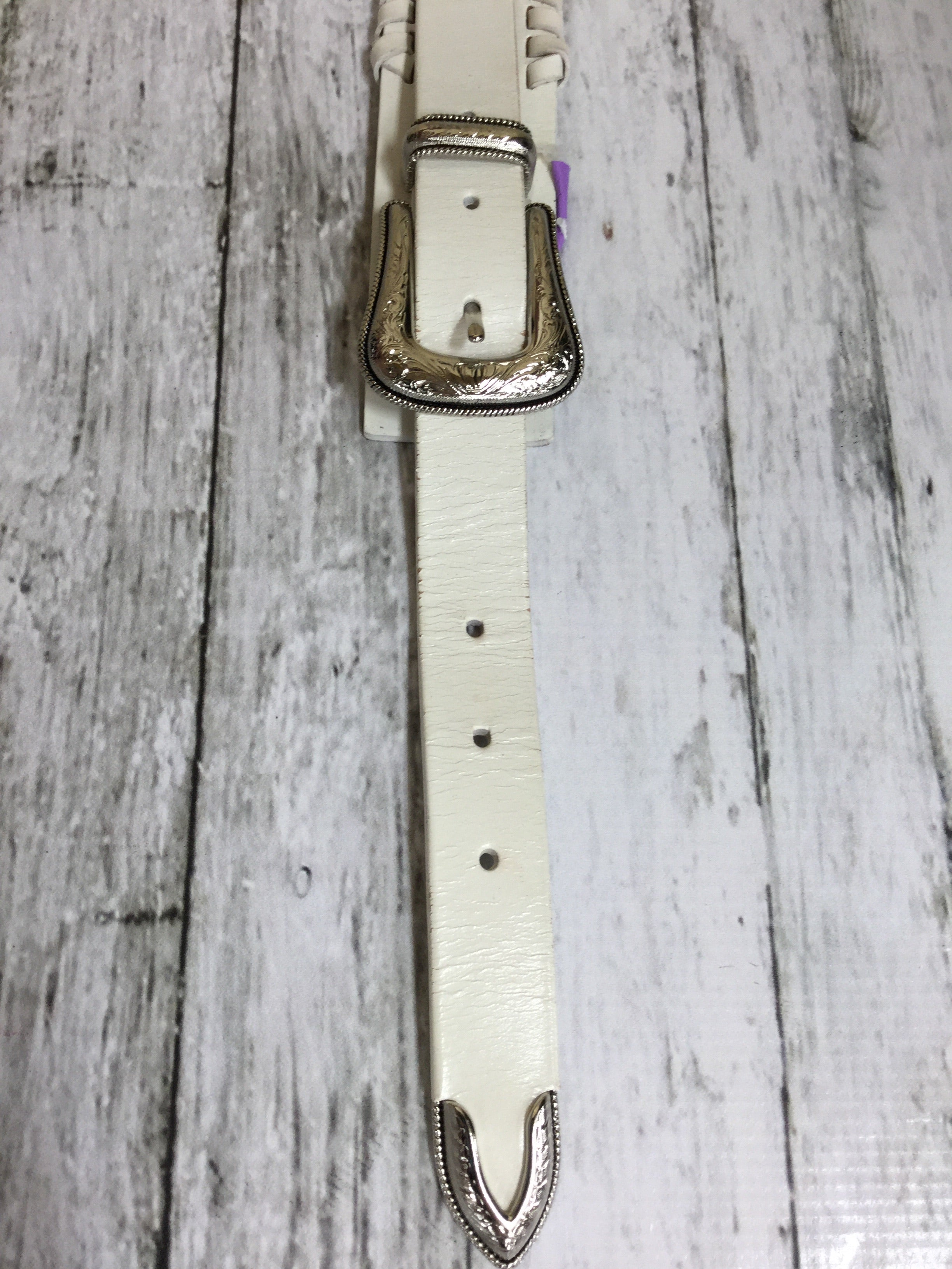 Primary Photo - BRAND: REBECCA MINKOFF , STYLE: BELT , COLOR: CREAM , SIZE: XL , OTHER INFO: AS IS , SKU: 127-2767-84260
