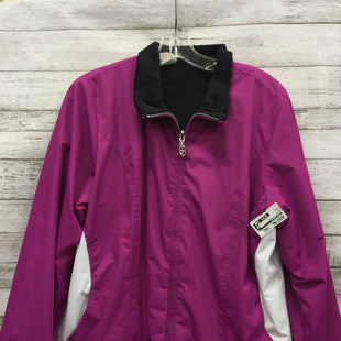 Primary Photo - BRAND: ZERO XPOSURE STYLE: JACKET OUTDOOR COLOR: PINK SIZE: L SKU: 127-2767-87621THIS JACKET IS IN GOOD CONDITION WITH SOME MINOR WEAR.
