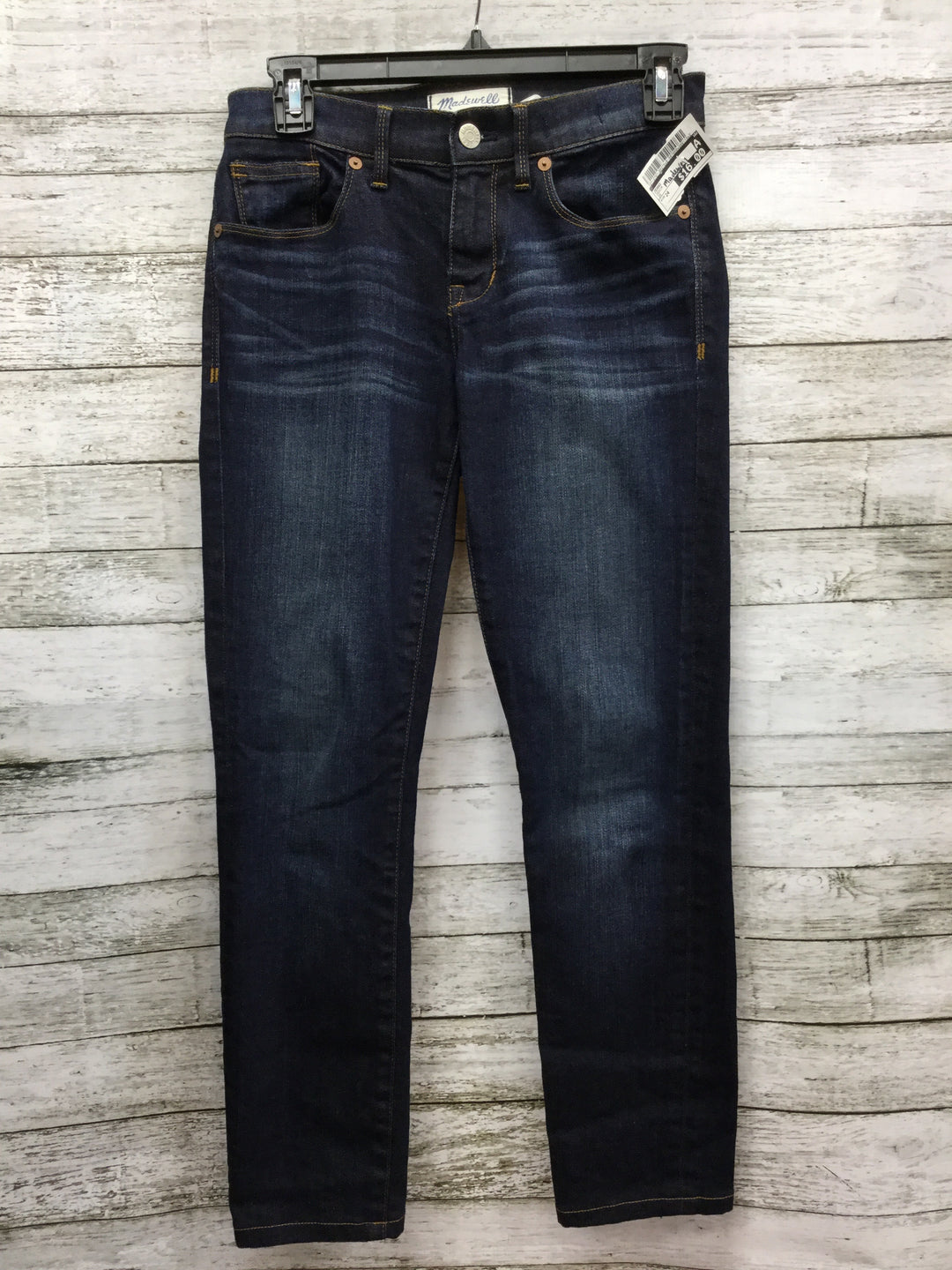 Primary Photo - BRAND: MADEWELL, STYLE: JEANS , COLOR: DENIM , SIZE: 24 , SKU: 127-2767-89276, , 24 INCH WAIST SKINNY JEANS.