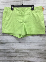 Primary Photo - BRAND: NEW YORK AND CO O , STYLE: SHORTS , COLOR: LIME GREEN , SIZE: 16 , SKU: 127-2767-80128